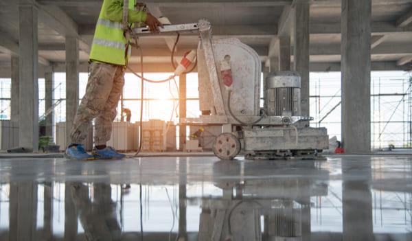 床面洗浄・WAX塗布